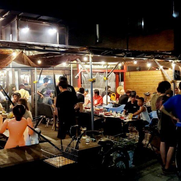 【京都】39カフェでバーベキュー