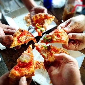 京都39カフェで本格的なピザ窯でピザ作り体験!ピザパーティー