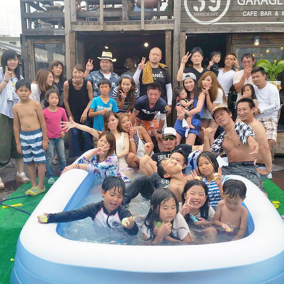 京都39カフェ-プール付きカフェがお子様に大人気!