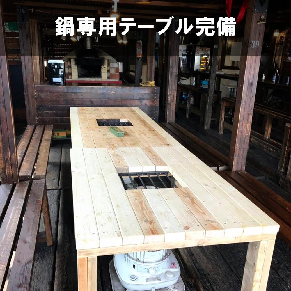 京都-カフェで鍋パーティー