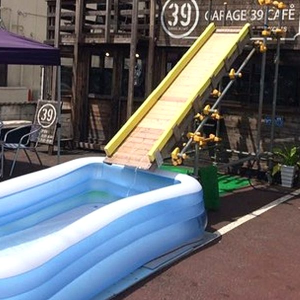 【京都】プール付きカフェで休日にお子様と一緒にバーベキューしませんか?